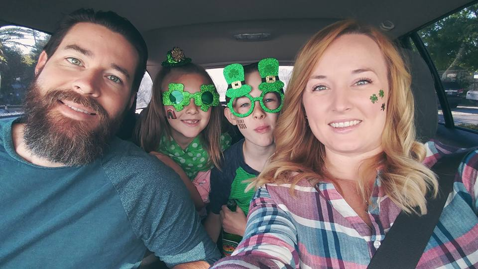 McGinn Family St. Patricks Day